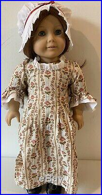 PLEASANT COMPANY FELICITY DOLL with Rose Garden Meet Outfit American Girl
