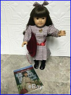 PLEASANT COMPANY SAMANTHA DOLL American Girl MEET OUTFIT HAT LOCKET RETIRED