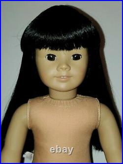 Pleasant Co. #4 Asian-American Girl 18 Doll Rare Retired AGOT & Outfit