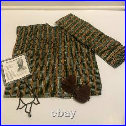 Pleasant Co American Girl 1996 Retired ADDY'S KWANZAA Outfit and Rare NECKLACE