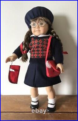 Pleasant Co American Girl Doll Molly Meet Outfit & Partial Accessories Early 90s
