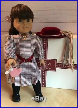 Pleasant Co American Girl Samantha Doll 18 with Meet Outfit and Accessories