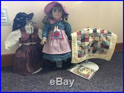 Pleasant Co Retired Kirsten Larson American Girl Doll w Outfits + Accessories