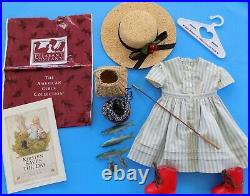 Pleasant Company 1991 Kirsten American Girl Summer Story Fishing Outfit Fish Set