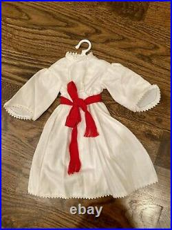 Pleasant Company 1995 American Girl Kirsten Saint Lucia Gown Christmas Outfit