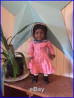 Pleasant Company Addy American Girl doll orignial meet outfit 18 + extras EUC