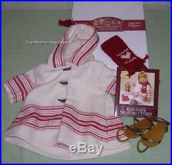 Pleasant Company American Girl 1997 Limited Edition KIRSTEN's SKATING OUTFIT MIB