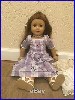 Pleasant Company American Girl Doll Felicity Used with extra outfits