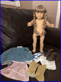 Pleasant Company American Girl Doll Kirsten 1994 With Mee Outfit