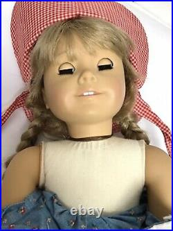 Pleasant Company American Girl Doll Kirsten Doll with Meets Outfit Doll