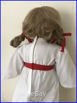 Pleasant Company American Girl Doll Kirsten In St Lucia Christmas Outfit