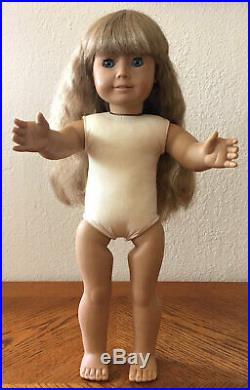 Pleasant Company American Girl Doll Kirsten White Body Meet Outfit & Accessories