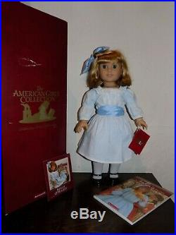 Pleasant Company American Girl Doll Nellie in Original Box with Meet Outfit