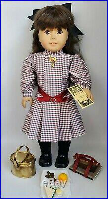 Pleasant Company American Girl Doll Pre-Mattel Samantha- 6 Outfits & Accessories