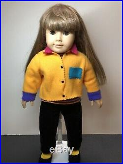 Pleasant Company American Girl Doll Samantha Limited Trunk Case Extra Outfits