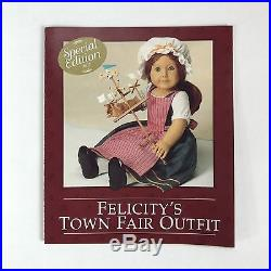Pleasant Company American Girl Felicity Special Edition Town Fair Outfit 1997