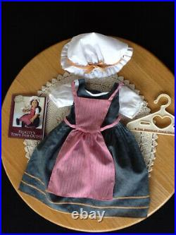 Pleasant Company American Girl Felicity's TOWN FAIR OUTFIT + WINDMILL LIMITED ED