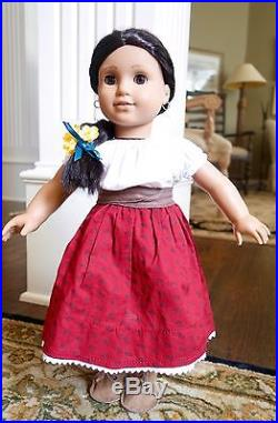 Pleasant Company American Girl Josefina Doll with Meet OutfitGorgeous