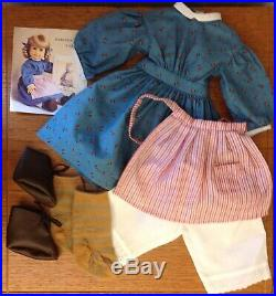 Pleasant Company American Girl KIRSTEN DOLLMeet Outfit Acc. BooKs NEW HEAD