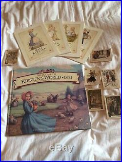 Pleasant Company American Girl KIRSTEN DOLL w OUTFITS TABLE ACCESSORIES BOOKS