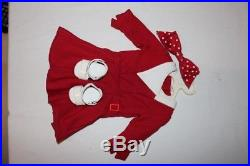 Pleasant Company American Girl -Kit with Meet Outfit+Christmas outfit