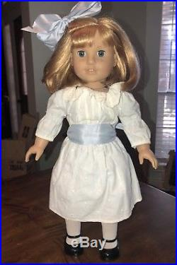 Pleasant Company American Girl Nellie Doll EUC Display Only Complete Meet Outfit
