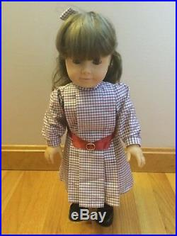 Pleasant Company American Girl Samantha 18 White Body Doll Wearing Meet Outfit