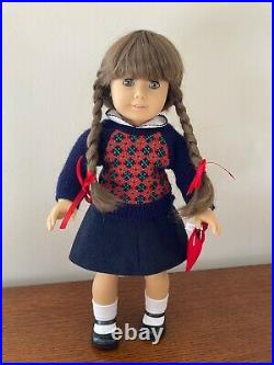 Pleasant Company American Girl White Body Molly Doll Meet Outfit Fully Restored