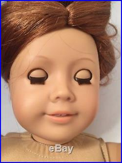 Pleasant Company Felicity Doll Meet Outfit American Girl Copper Hair Box Book