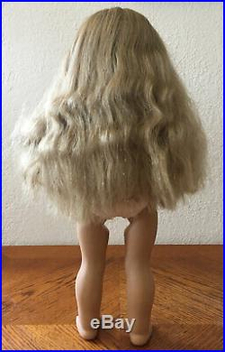 Pleasant Company KIRSTEN White Body American Girl Doll with Meet Outfit & Book