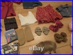 Pleasant Company Kirsten American Girl Lot Bed, Outfits, Accessories, Books et