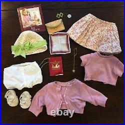 Pleasant Company Kit Doll & Meet Outfit Hat Shoes & Accessories Hair Clip Box