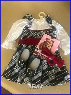 Pleasant Company Nellie American Girl Doll EUC w Meet Outfit Accessories + more