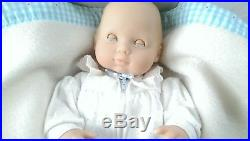 Pleasant Company Our New Baby Collection Doll Original Outfit Blanket Pillow
