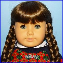 Pleasant Company Pristine American Girl Molly Doll in Made Hungary Meet Outfit