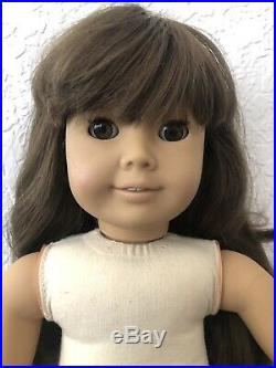 Pleasant Company SAMANTHA White Body American Girl Doll Retired Outfit Good