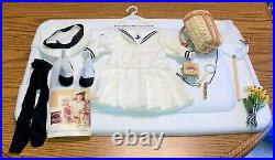 Pleasant Company Samantha's Middy Summer Outfit + Nature Paraphernalia, EUC