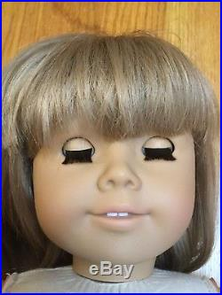 Pleasant Company WHITE BODY American Girl Kirsten Doll in Meet Outfit Excellent