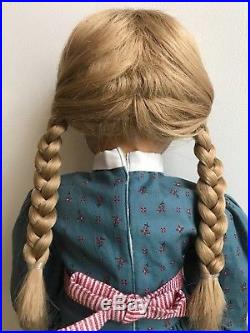Pleasant Company White Body Kirsten Doll in full meet outfit American Girl