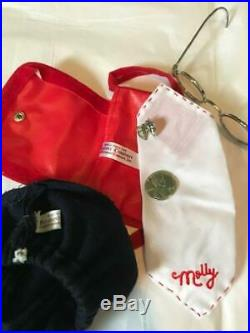 Pleasant Company White Body Molly with Meet Outfit & Accessories Awesome Shape