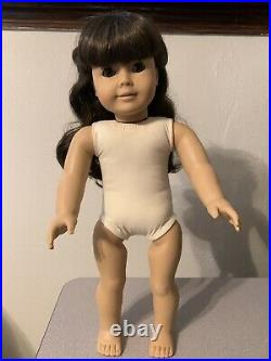 Pleasant Company White Body Samantha Doll Meet Outfit American Girl