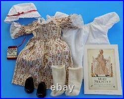 Pre Mattel Pleasant Company Felicity American Girl Doll with Meet Outfit +++