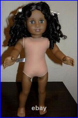 RARE American Girl Cecile African American Doll in Meet Outfit Beautiful