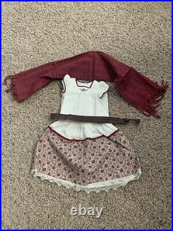 RARE American Girl Josefina Weaving Outfit with Camisa, Sash, Rebozo and Skirt