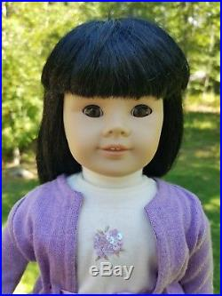 RARE American Girl doll Retired Pleasant Company Asian JLY #4 in 2002 outfit
