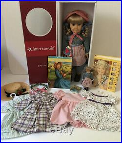 RETIRED AMERICAN GIRL KIRSTEN Doll, Outfits & Accessories Lot EXCELLENT
