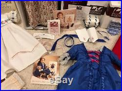 RETIRED American Girl Doll Felicity Lot Outfits, Accessories, Books PRISTINE