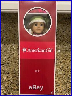 RETIRED American Girl Doll Kit 18 with original outfit, accessories