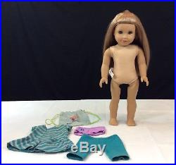 RETIRED American Girl Doll McKenna with Meet Outfit & Gymnastics Bag! #510