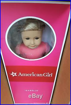 Retired New Ag American Girl Doll Isabelle Year Dance Ballet Outfit Blonde Blue